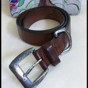 EDDIE BAUER Genuine Leather Belt